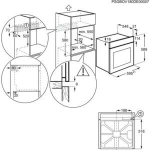 ELECTROLUX EOB3415AOX